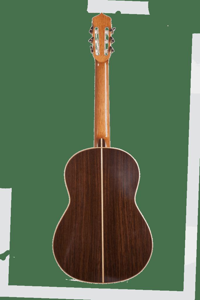 il fondo della chitarra classica Guagliardo di Marcello De Carolis