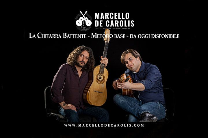 Chitarra battente metodo base, scritto da Francesco Loccisano e Marcello De Carolis, edito da Fingerpicking.net, disponibile dal 8 Aprile 2019