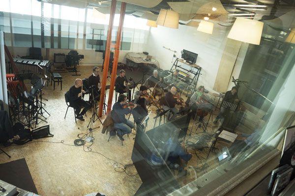 """La registrazione del """"Concerto di Matera"""" per chitarra battente presso l'Abbey Rocchi Studios di Roma"""
