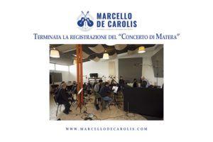 """Terminata la registrazione del """"Concerto di Matera"""" per chitarra battente e orchestra composto da Angelo Gilardino e dedicato a Marcello De Carolis"""