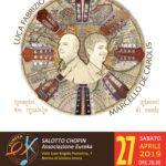 Concerto di Marcello De Carolis e Luca Fabrizio CORDAMINAZIONI a Marina di Gioiosa Ionica