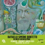 Raffaello Simeoni Quintetto in Orfeo Incantastorie, in concerto a Picinisco per il Pastorizia in Festival 2019