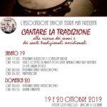 Contest a Savoia di Lucania, provincia di Potenza, del festival di musica popolare Lucana Cantare la tradizione