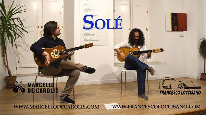 Solé live del concerto del duo di Chitarre Battenti Loccisano - De Carolis a Lagonegro il 20-8-19 per il Festival Internazionale della Chitarra di Lagonegro