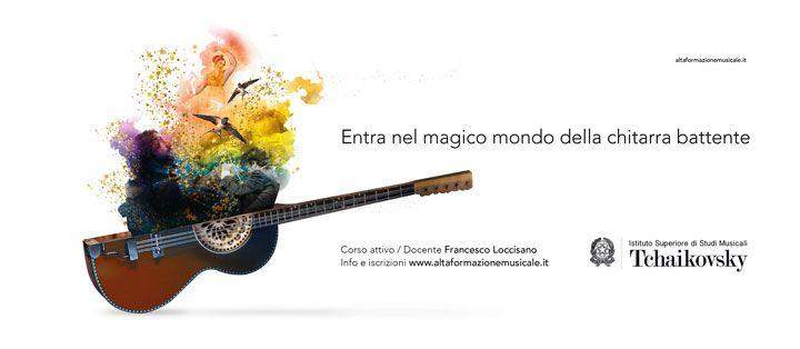 Il corso di chitarra battente in conservatorio di Nocera Terinese Tchaikovsky