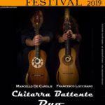 Concerto all'alice Festival del duo di chitarra battente Loccisano - De Carolis il 21 Dicembre 2019