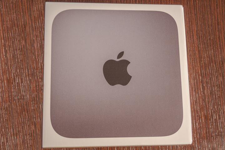 La scatola del Mac mini 2018