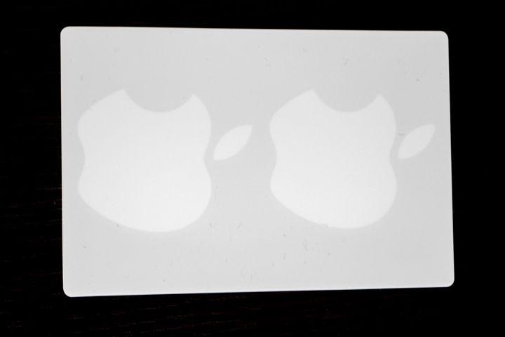 Gli adesivi della mela morsicata della Apple