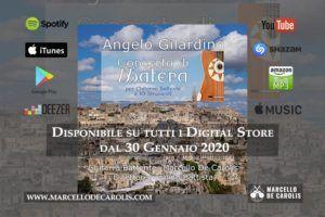 30 Gennaio 2020 uscita del concerto di Matera per chitarra battente e 10 strumenti composto da Angelo Gilardino