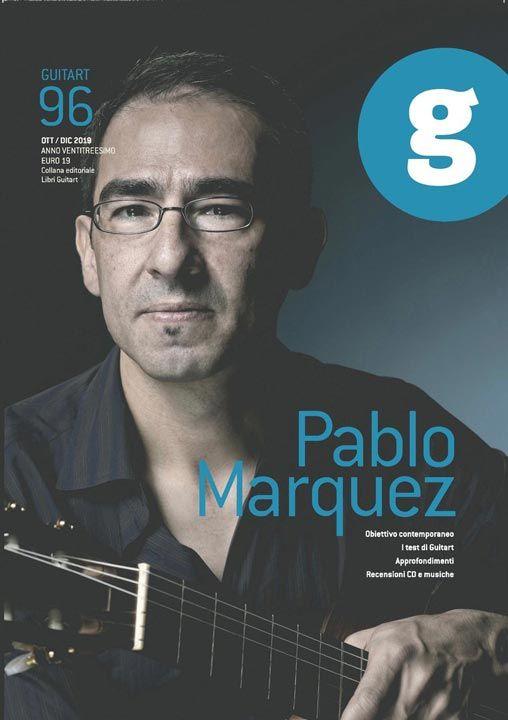 La copertina del numero 96 di ottobre - dicembre 2019 della rivista chitaristica GuitArt