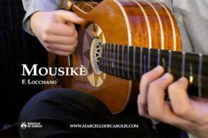 Mousikè di Francesco Loccisano con la mia chitarra battente Oliver OL-14
