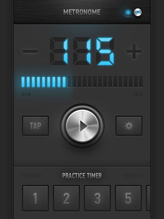 metronomo iPad app metrotimer