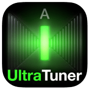 Ultratuner icona png app iPad per musica