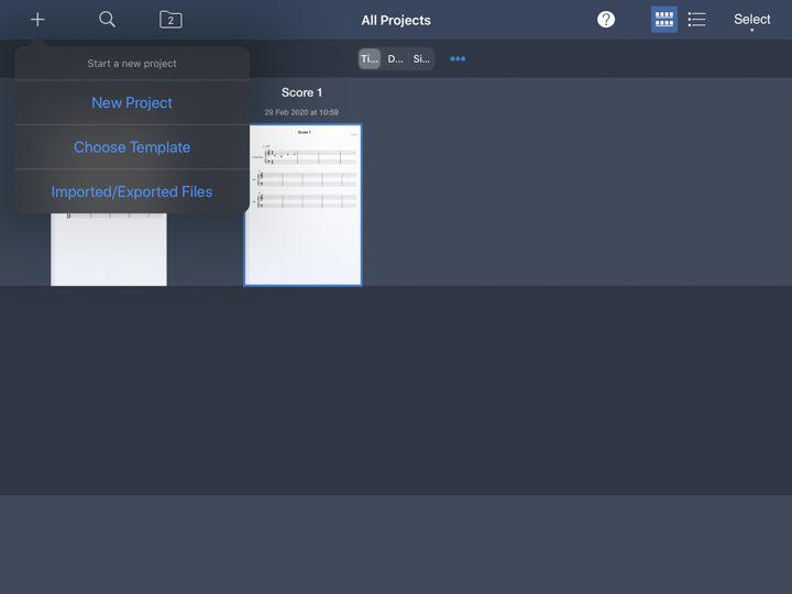 symphony pro 5 permette di comporre musica con ipad