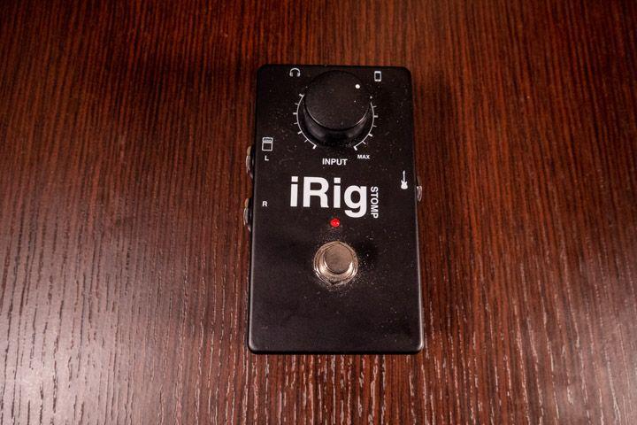 IRig di IK Multimedia per poter collegare la tua chitarra o basso elettrico all'iPad