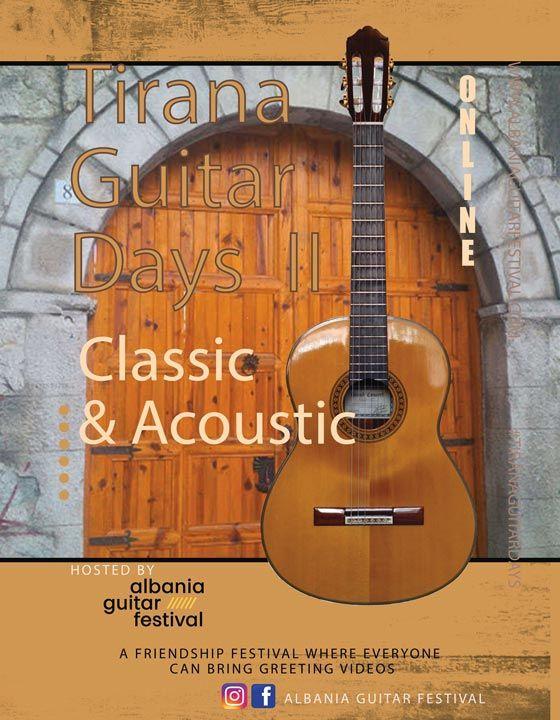 Tirana Guitar Days locandina