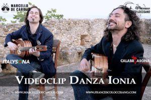 Danza Ionia il videoclip del duo di chitarra battente Loccisano De Carolis