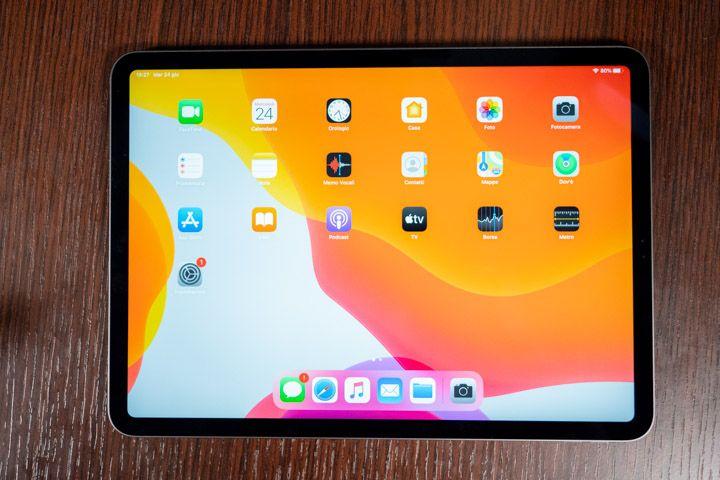 iPad Pro 2020 acceso e configurato