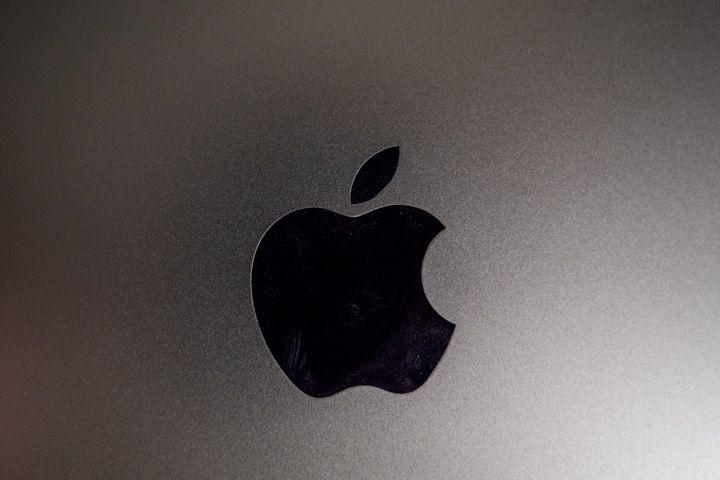 Simbolo della apple sul retro di iPad Pro 2020
