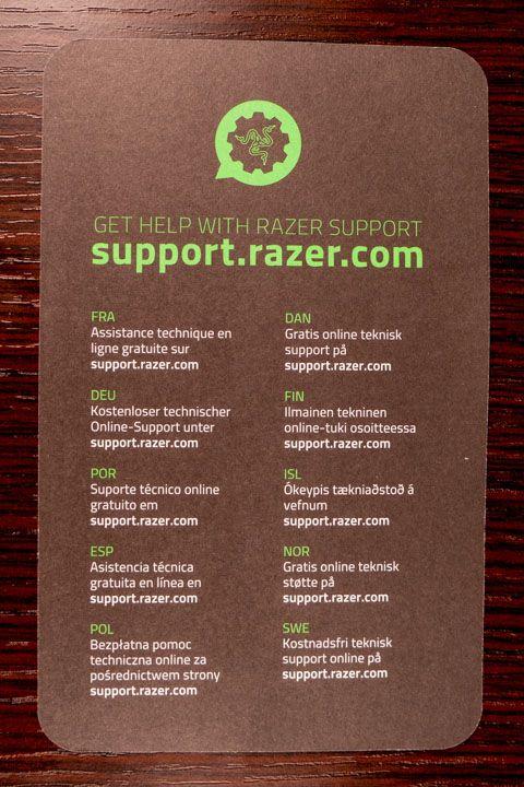 Supporto tecnico Razer