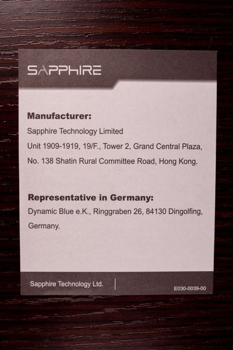 Manifattura sapphire nitro + amd radeon 5700 xt