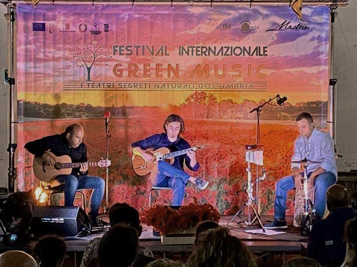 Marcello De Carolis trio a città ella pieve per il IV festival internazionale Green music