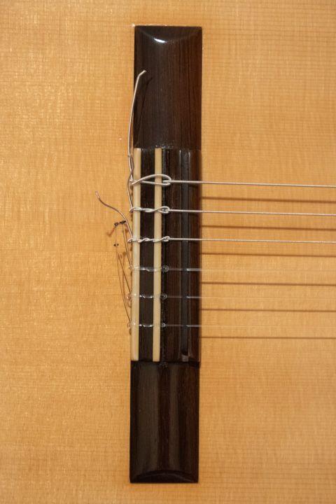 Ponticello chitarra classica Giuseppe Guagliardo
