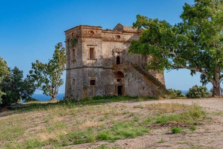 Castello di San Fili a Stignano in provincia di Reggio Calabria