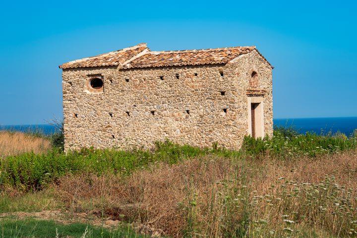 chiesa annessa al Castello di San Fili a Stignano in provincia di Reggio Calabria