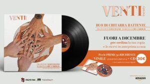 Il pre-order del disco venti del duo di chitarra battente Loccisano De Carolis prodotto dall'etichetta discografica italysona
