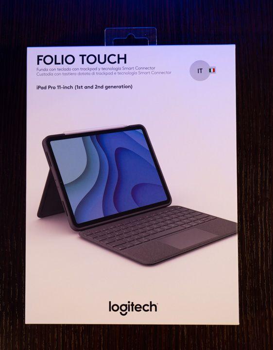 Scatola della folio touch di Logitech