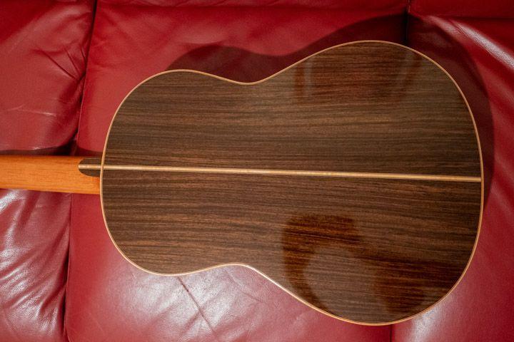 Fondo della chitarra classica Guagliardo
