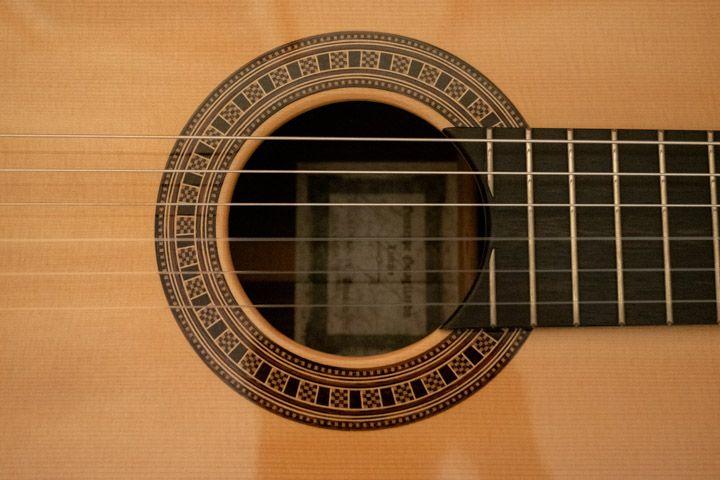 Intarsi della rosetta della chitarra classica Guagliardo