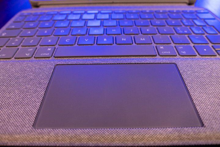 trackpad e tastiera per ipad pro di logitech