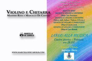 Violino e Chitarra - Massimo Rosa e Marcello De Carolis