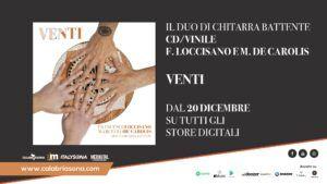 Venti digital store e in vinile e cd di Loccisano De Carolis duo di chitarra battente