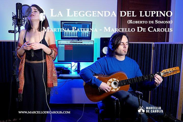 La leggenda del lupino - Martina Paterna e Marcello De Carolis - voce e chitarra battente