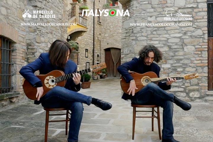 La tarantella di zio Nicola: il videoclip musicale del duo di chitarra battente Loccisano De Carolis girato a Guardia Perticara (Basilicata)