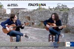 TGR Basilicata servizio sul disco Venti del duo Loccisano De Carolis