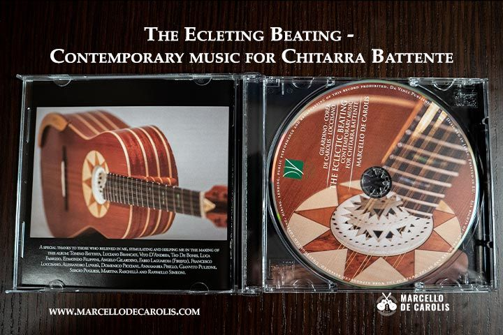 Unboxing the ecleting beating contemporary music for chitarra battente