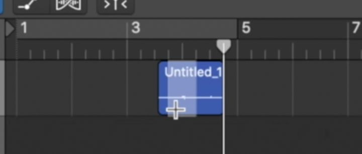 Mouse che diventa marque tool in Logic Pro x