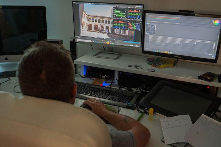 Vito D'Andrea monta il video di Tico tico
