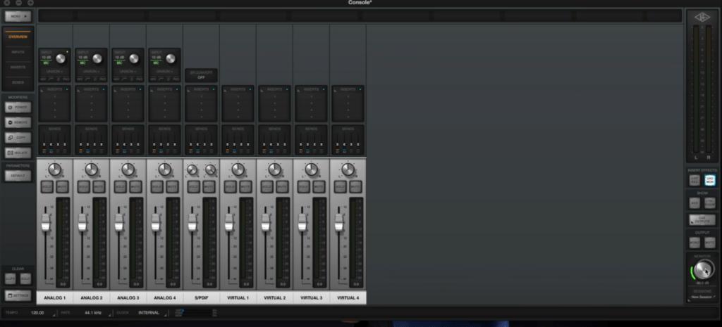 Console di Universal Audio