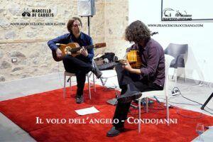 Il volo dell'angelo - estratto del concerto del 20 dicembre 2019 del duo di chitarra battente Loccisano De Carolis a sant'Ilario dello Jonio