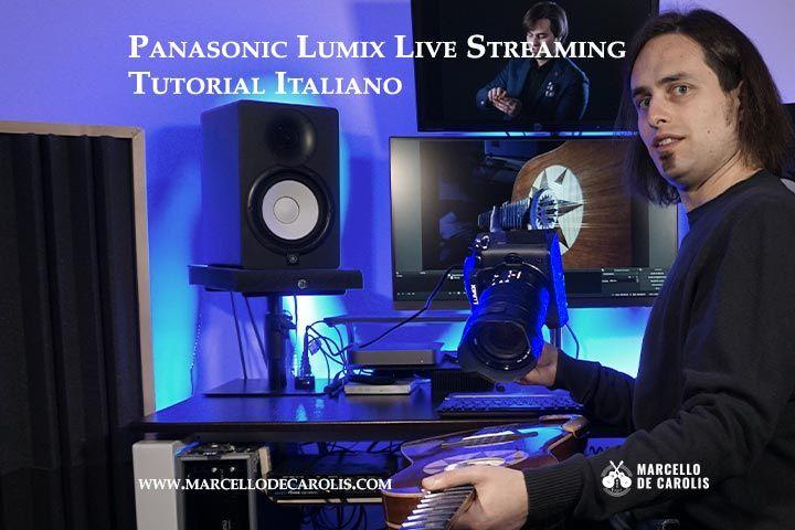 Panasonic Lumix live streaming