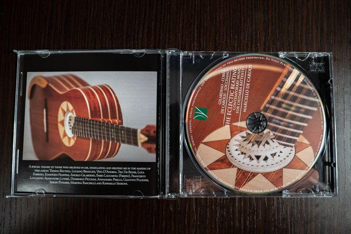 Marcello De Carolis disco per chitarra battente
