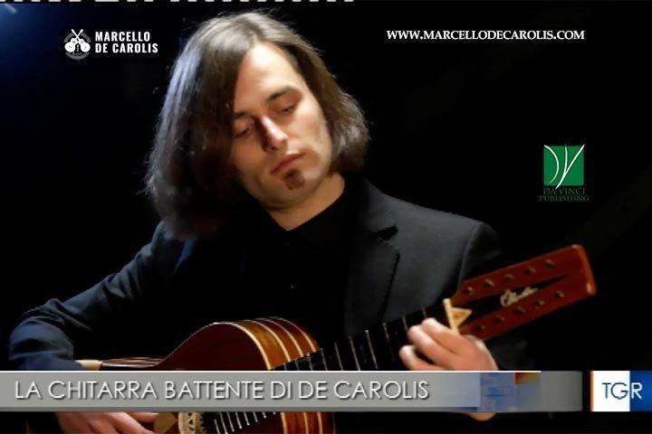 Servizio TGR Basilicata su The Eclectic Beating - Contemporary Music For Chitarra Battente di Marcello De Carolis