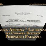 Danza Abetina * Laurenzana per chitarra battente composta da Pierpaolo Palazzo