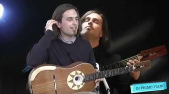 TG7 Basilicata intervista a Marcello De Carolis e la sua chitarra battente per in primo piano format con Antonio Petrino