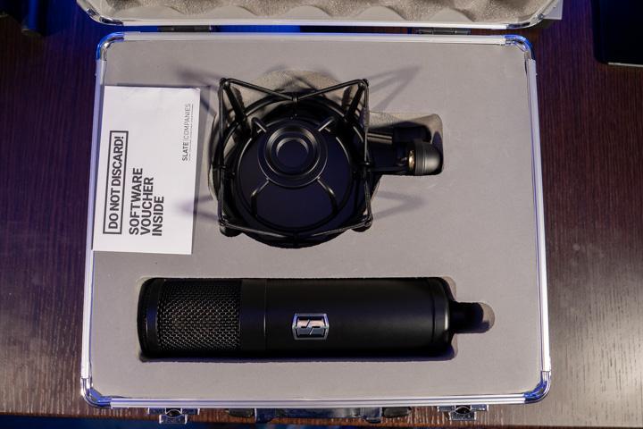 ragno e microfono slate digital